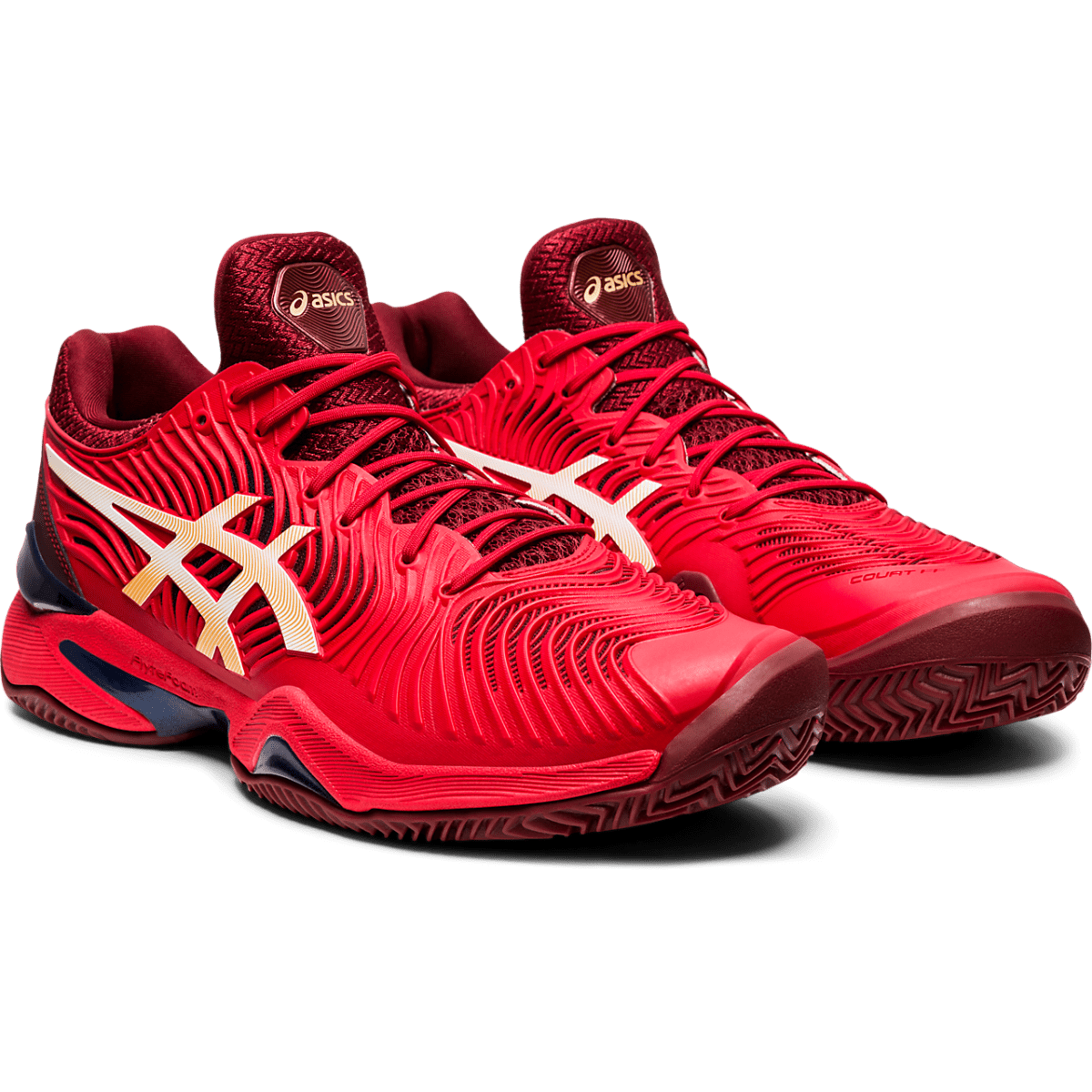 Asics Court FF 2 Clay M 2020 (Classic Red/White)