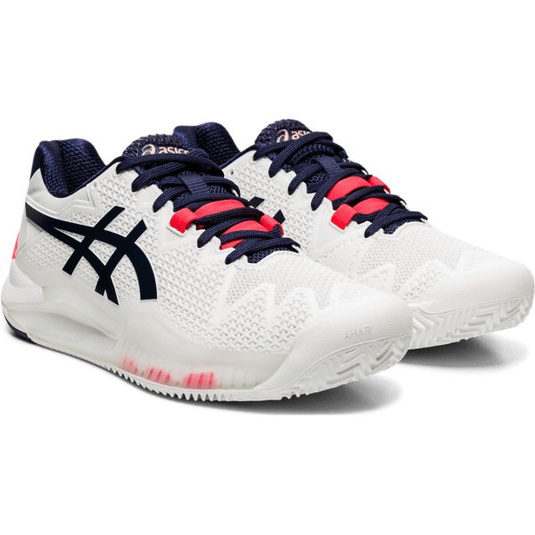 Asics Gel-Resolution 8 Clay W 2020 (White/Peacoat)