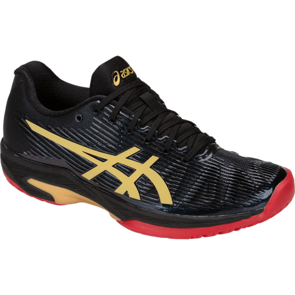 Asics Solution Speed FF L.E. W (Black/Rich Gold)