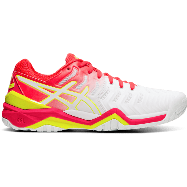 Asics Gel-Resolution 7 W (White/Laser Pink)