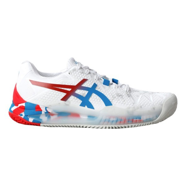 Asics Gel-Resolution 8 L.E. 2020 W (White/Electric Blue)