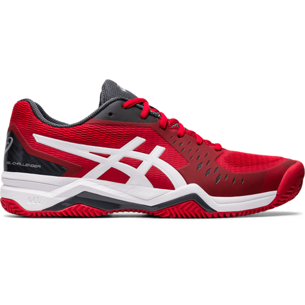Asics Gel-Challenger 12 Clay M 2020 (Classic Red/White)