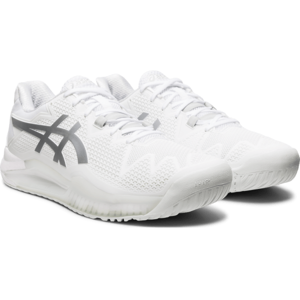 Asics Gel-Resolution 8 M 2020 (White/Pure Silver)