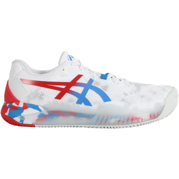 Asics Gel-Resolution 8 Clay L.E. M 2020 (White/Electric Blue)