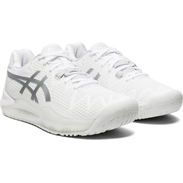 Asics Gel-Resolution 8 W 2020 (White/Pure Silver)