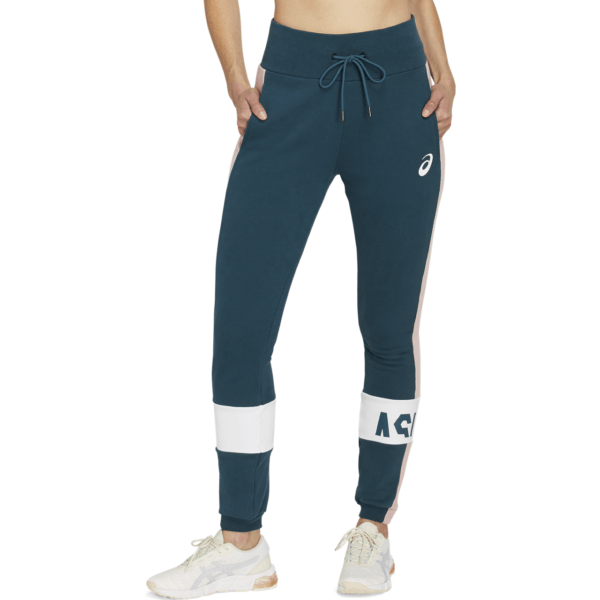 Asics ColorBlock Pant W 2020 (Magnetic Blue)