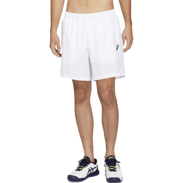 Asics Club M 7in Short (2020) (Brilliant White/Brilliant White)