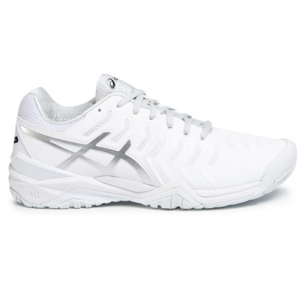 Asics Gel-Resolution 7 M (White/Silver)