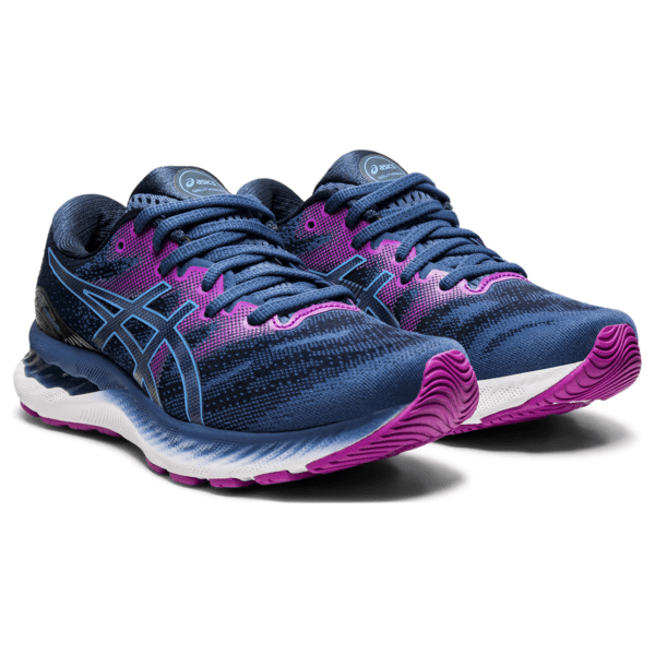 Asics Gel-Nimbus 23 W 2021 (Grand Shark/Digital Aqua)