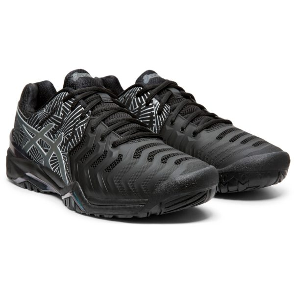 Asics Gel-Resolution 7 L.E M (Black/Silver)