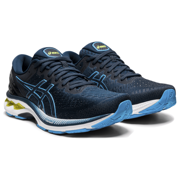 Meeste jooksujalats Asics Gel-Kayano 27 M 2021 (French Blue/Digital Aqua)
