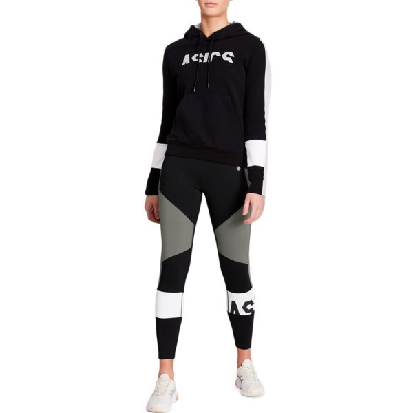 Asics Color Block Cropped Tight 2 W 2020 (Performance Black/Carbon)