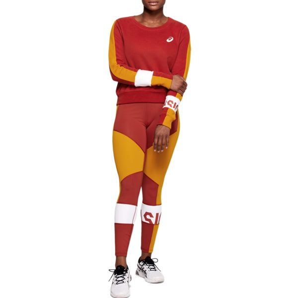 Asics Color Block Cropped Tight 2 W 2020 (Spice Latte)