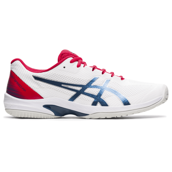 Meeste tennisejalats Asics Court Speed FF M 2021 (White/Mako Blue)