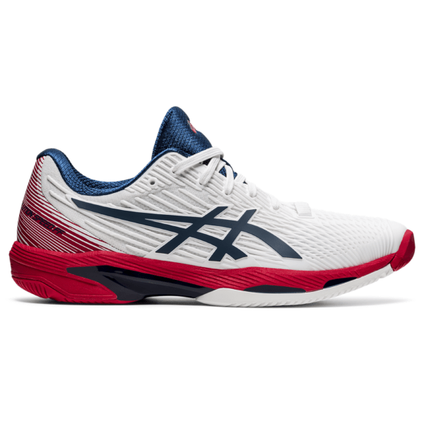 Asics Solution Speed FF 2 M 2021 (White/Mako Blue)