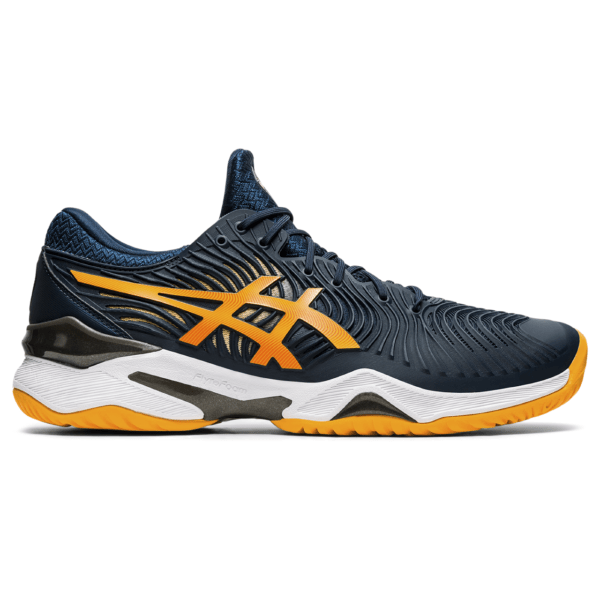 Meeste tennisejalats Asics Court FF 2 M 2021 (French Blue/Amber)