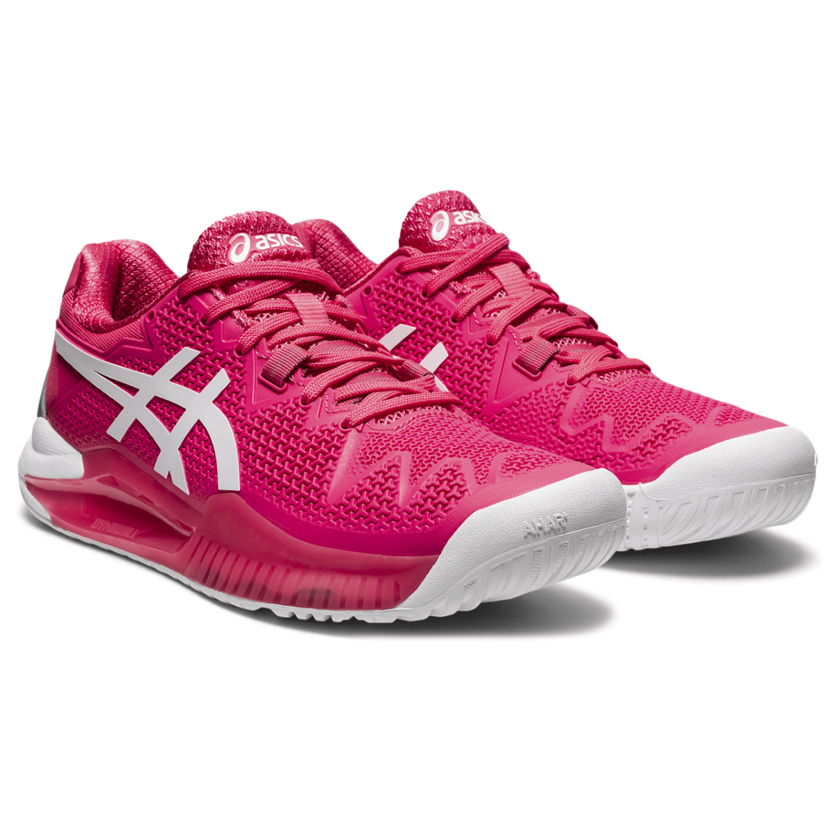 Naiste tennisejalats Asics Gel-Resolution 8 W 2021 (Pink Cameo/White)