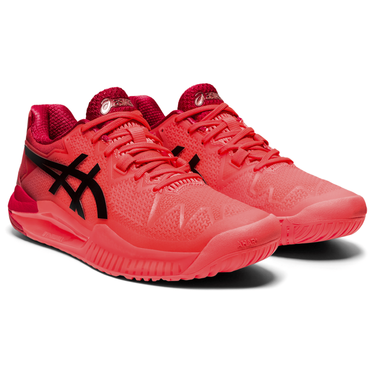 Naiste tennisejalats Asics Gel-Resolution 8 Tokyo W 2021 (Sunrise Red/Eclipse Black)