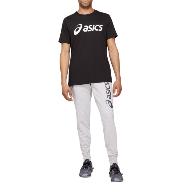 Meeste dressipüksid Asics Big Logo Sweat Pant M 2021 (Mid Grey Heather/Dark Gey)