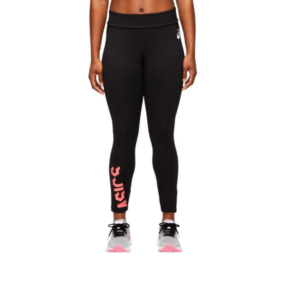 Naiste treeningretuusid Asics ESNT 7/8 Tight W 2021 (Performance Black/Peach Petal)