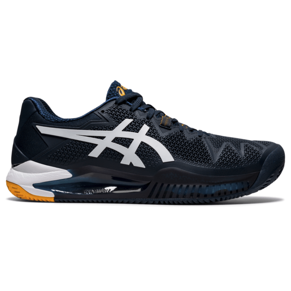 Saviväljakute meeste tennisejalats Asics Gel-Resolution 8 Clay M 2021 (French Blue/White)