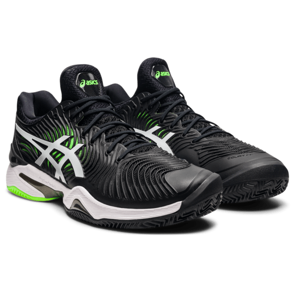 Meeste saviväljaku tennisejalats Asics Court FF 2 Clay M 2021 (Black/Green Gecko)