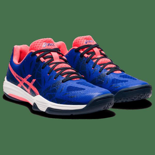 Sisesaali naiste treeningjalats Asics Gel-Fastball 3 W 2021 (Lapis Lazuli Blue/Blazing Coral)