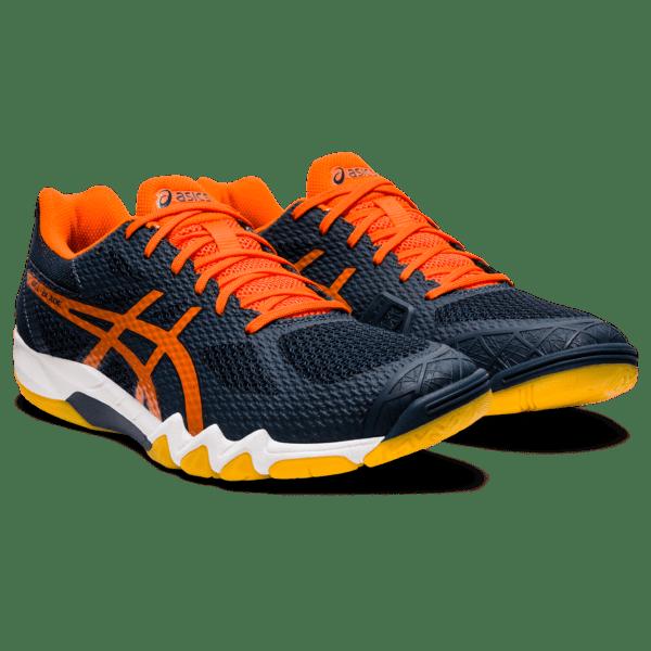 Meeste sisesaali treeningjalats Asics Gel-Blade 7 M 2020 (French Blue/Marigold Orange)